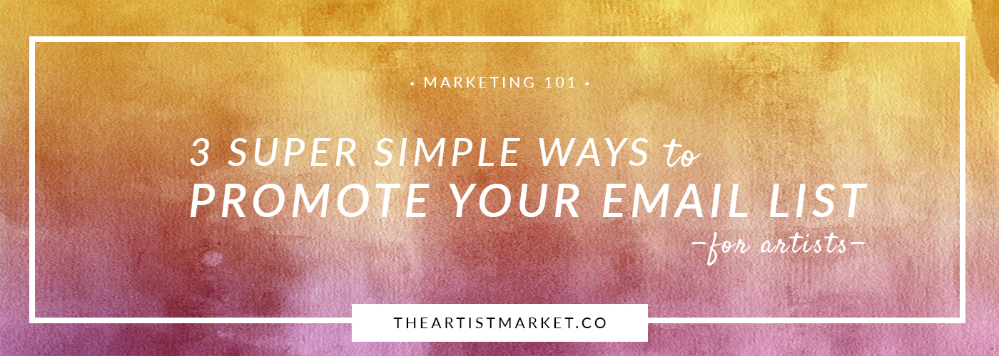 Give your email list a boost with these three easy ways to share