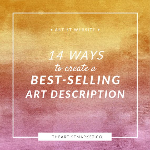 sell art description