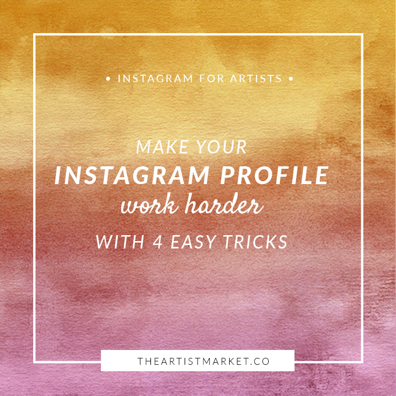 artist instagram profile