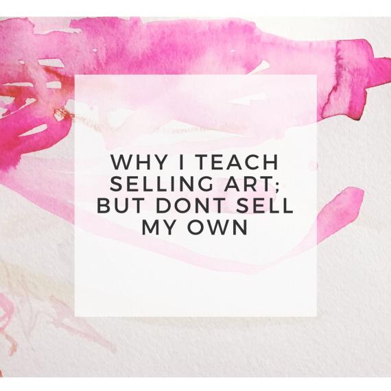 why I shouldn't sell art header image