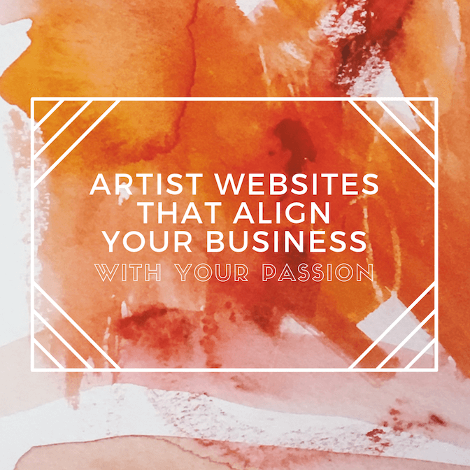 Artist websites that align your business with your passion_compressed