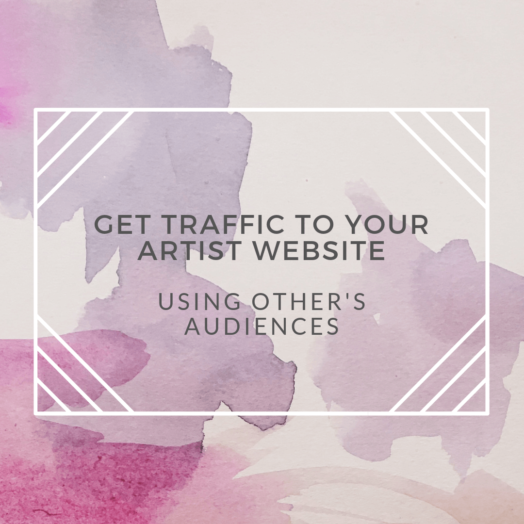 artist website traffic using other peoples audiences