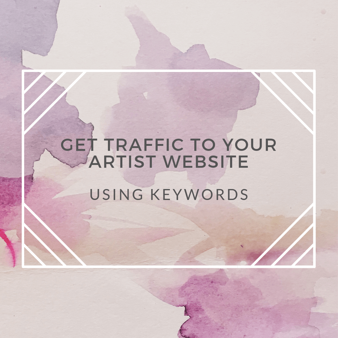 artist website traffic keywords