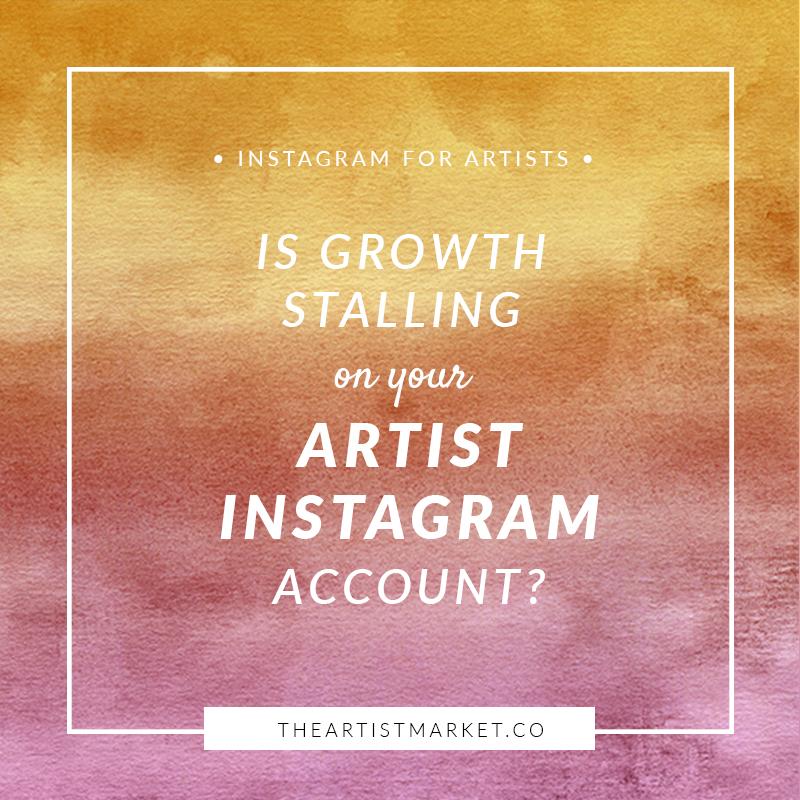 artist instagram account growth