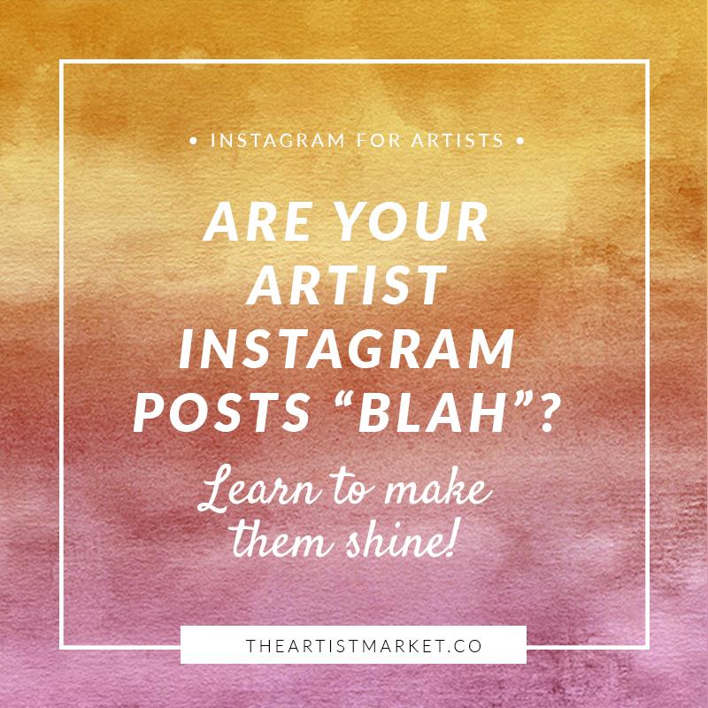 artist instagram posts
