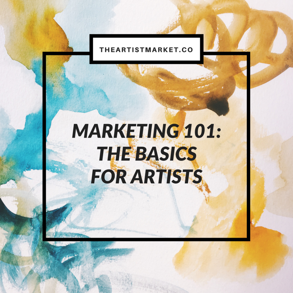 basic marketing for artists
