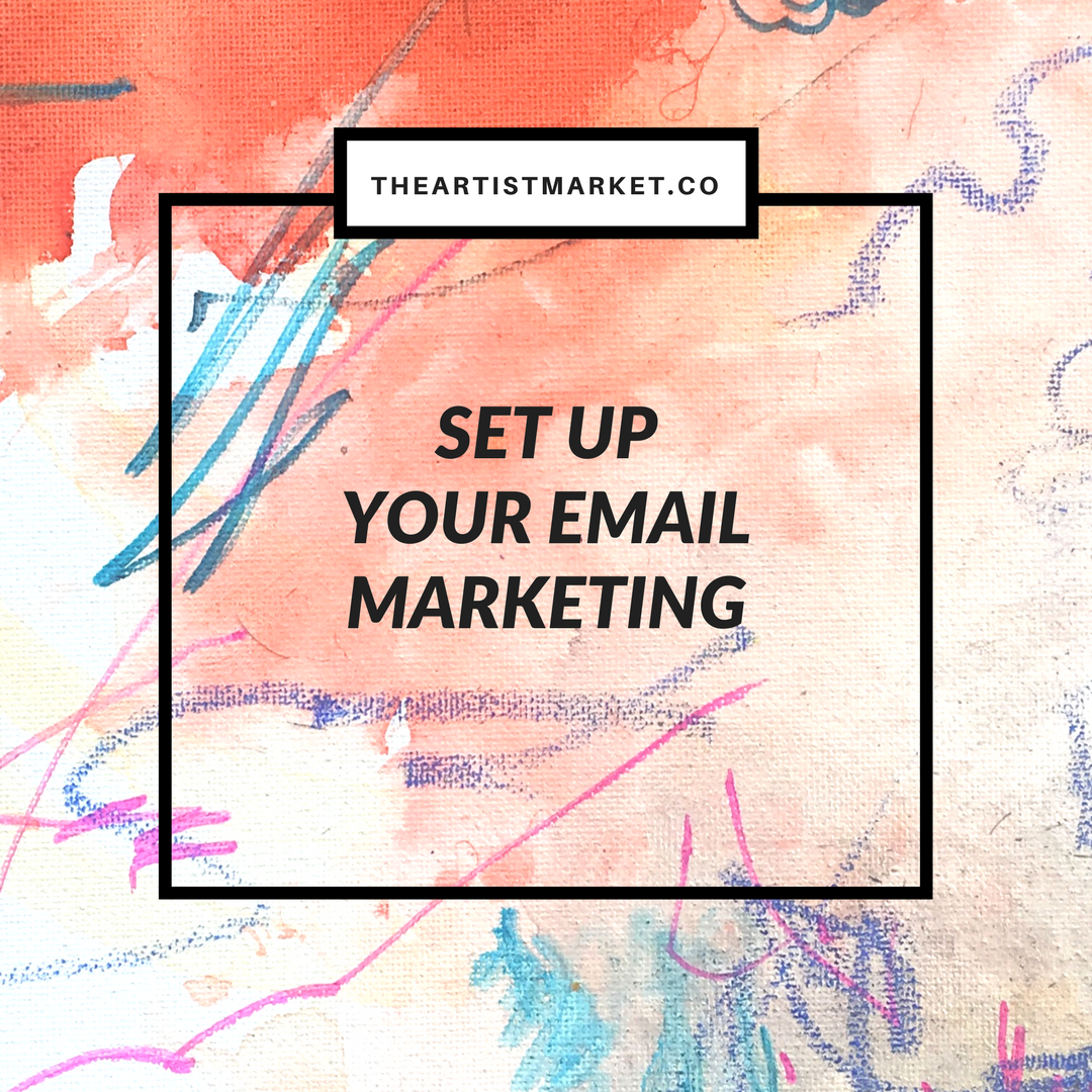 email marketing for artists