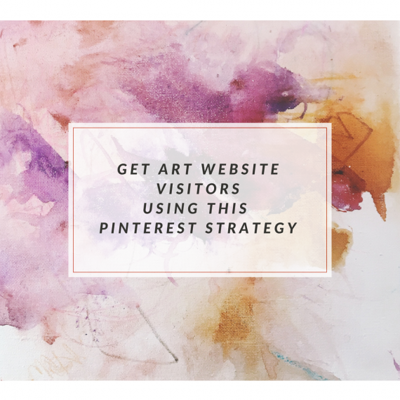 get art website traffic with pinterest