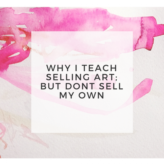 why I shouldn't sell art header image