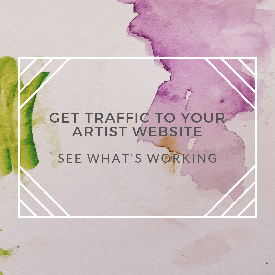 artist website traffic track whats working