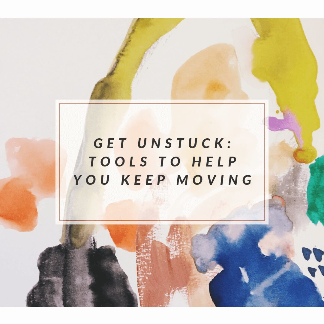 tools to break through artist mental blocks