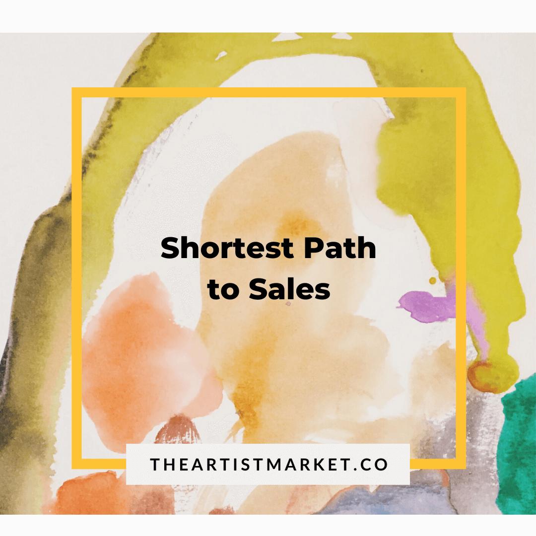 Shortest Path to Art Sales